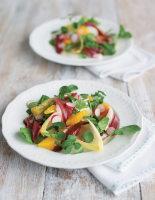 Smoked Duck, Orange and Watercress Salad