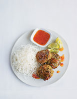 Chicken, Prawn and Lemon Grass Cakes