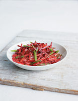 Creamy Beetroot, Green Bean and Tomato Curry