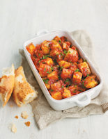 Spanish Potatoes with Spicy Tomatoes