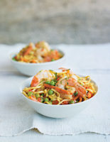 Spicy Prawn and Vegetable Noodles