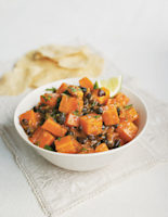Carrot and Black Bean Curry