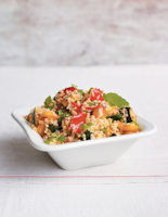 Harissa Tabbouleh with Roasted Vegetables