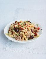 Spicy Tuna, Tomato and Olive Pasta