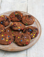 Really Chocolatey Choc Chunk Cookies