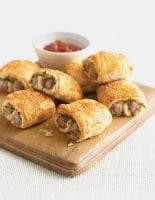 Mini Sausage, Sage and Onion Rolls