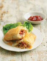 Bacon and Brie Strudels
