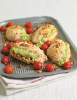 Chicken Breasts with Mascarpone Cheese and Tomatoes