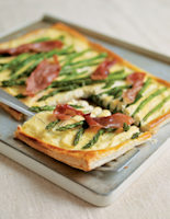 Parma Ham and Asparagus Tart