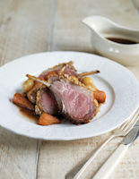Rosemary-Crusted Roast Lamb