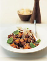 Red Rice & Pumpkin Risotto
