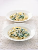 Fettucine with Dolcelatte and Spinach