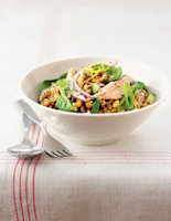 Trout & Cracked Wheat Salad