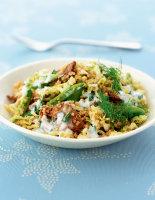 Red Roasted Pork & Quinoa Salad