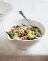 Warm Sardine, Bean and Potato Salad
