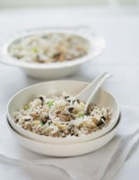 Mushroom and Egg-Fried Rice