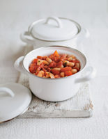 Chorizo and Bean Stew