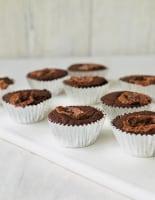Chocolate Bar Brownie Buns