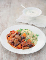 Beef, Pumpkin and Prune Stew