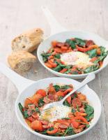 Chorizo and Ham Eggs