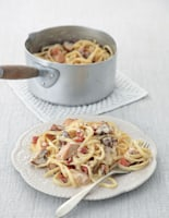 Chicken, Pancetta and Mushroom Carbonara