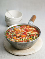 Tomato, Ras el Hanout and Vermicelli Soup
