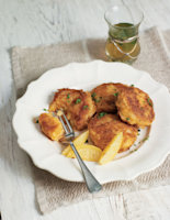 Cheese and Paprika Potato Cakes