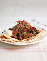 Spicy Pan-Fried Liver, Prunes and Onions