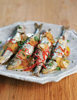 Roasted Chilli and Preserved Lemon Sardines