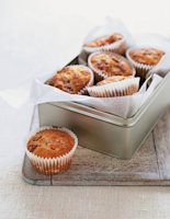 Coconut and Raspberry Muffins