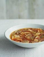 Quick Mushroom and Garlic Tom Yum