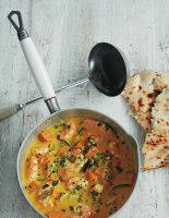 King Prawn and Sweet Potato Curry