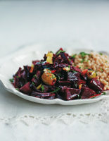 Red Cabbage and Beetroot Tagine