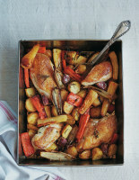 Chicken and Winter Vegetable Tray-Roast