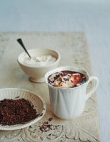 Whipped Irish Cream Hot Chocolate