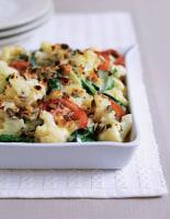 Tricolore Cauliflower Gratin