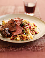 Lamb with Pomegranate Couscous