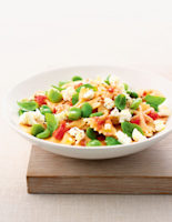 Broad Bean & Goats' Cheese Salad