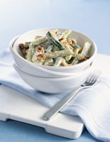 Creamy Courgettes with Walnuts