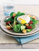 Chorizo, Egg & Ciabatta Salad