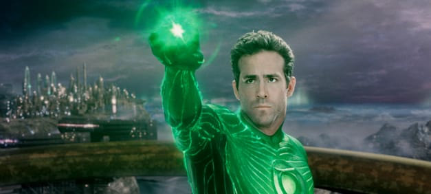 RYAN REYNOLDS as Green Lantern in Warner Bros. Pictures' action adventure