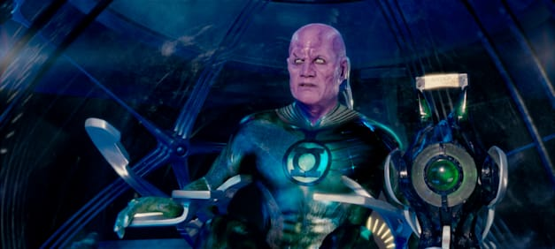 TEMUERA MORRISON as Abin Sur in Warner Bros. Pictures' action adventure