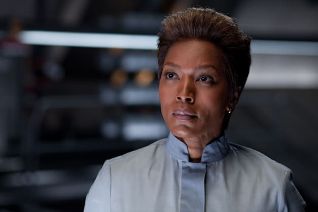 ANGELA BASSETT as Doctor Waller in Warner Bros. Pictures' action adventure