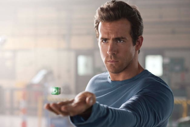 Ryan Reynolds stars as Hal Jordan.