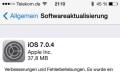 iOS 7.0.4 ist da, iBooks wird modern