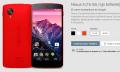 El Nexus 5 en color rojo brillante ya es oficial (y está disponible para comprar)