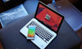 Alcatel Smartbook: Laptop wird kabellos von Smartphone angetrieben