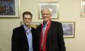 Gleich live bei Phoenix: Edward Snowden traf Ströbele
