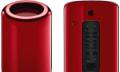 Roter Mac Pro erziehlt Rekordpreis bei Auktion