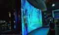 Samsung muestra un televisor 4K de 85 pulgadas que se dobla con pulsar un botón